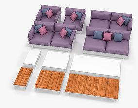 Viteo Pure Garden Furniture 3D
