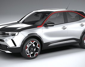 Opel Mokka 2021 3D