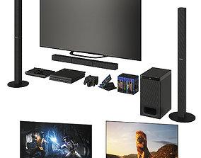Sony TV system 3D model