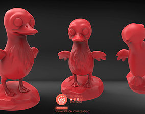 Cute Duck 3D printable model
