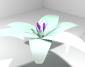 Flower - Lily 3D