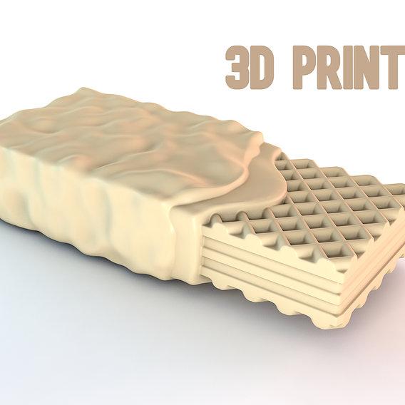 Wafer Crunch 3d printable model