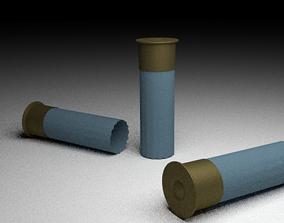 3D asset Shotgun Shells