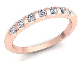 cupid Woman Diamond Ring 3d Model print