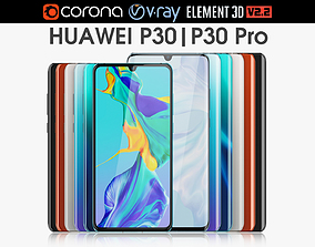 Huawei P30 and P30 Pro Collection 3D