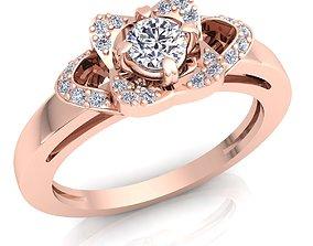 Engagement Ring 3D printable model engagement fashion-ring