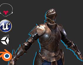 Knight 7 3D asset