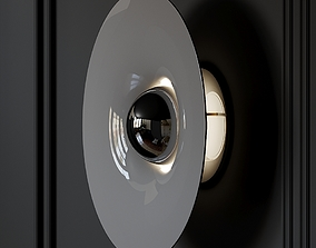 3D MFCDYC - Pommer Wall Sconce