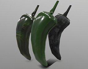 Jalapeno 3D model