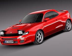 3D model Toyota Celica st 185 1990 - 1993
