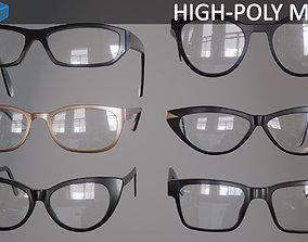 3D Glasses Eyewear and Spectacles volatile-vertex