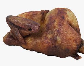 Grilled Chicken dinner 3D