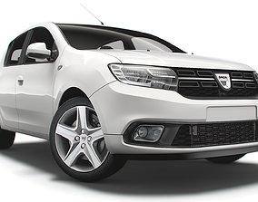 Dacia Sandero 2019 3D