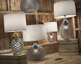 Decorative lamps Glamour fixture 3D model