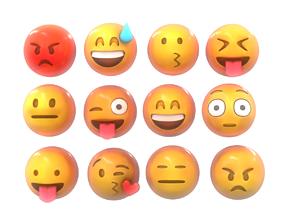 3D Emoji Smile Pack