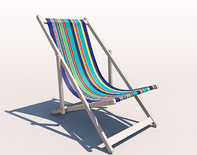 3D Deck Chair - Contemporary