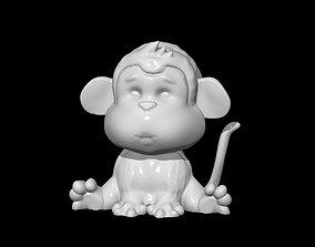 mammal Monkey 3D print model