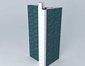 3D South African Reserve Bank Building