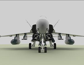 fighter jet f16 3D model