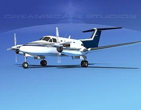 3D Beechcraft B200 GT King Air V02