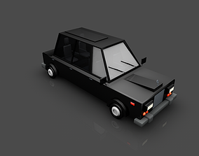 3D model car Rolls Royce
