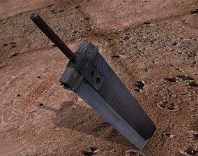Classic Buster Sword 3D model