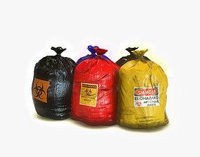 3D model Medical Waste Bags