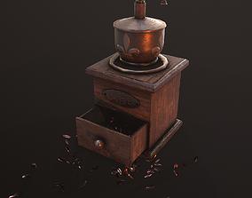 coffee grinder 3D asset