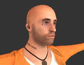 3D asset Prisoner