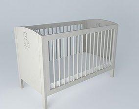 Bed CHILD BEAR Maisons du monde 3D model
