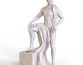 Man Statue 3D print model
