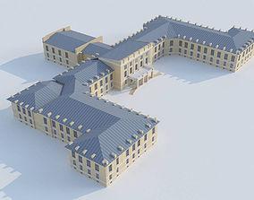 3D model Military University of Communications