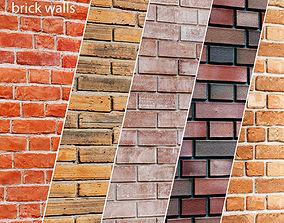 3D model Bricks set