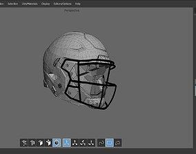 Footbal Helmet 3D model