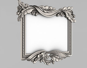 Frame for the mirror 3D print model elements