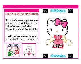 3D model Hello Kitty But Cooler