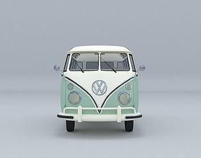 Volkswagen Transporter T1 3D Printing Model 3D model