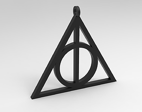 Deathly Hallows Pendant for 3D Print