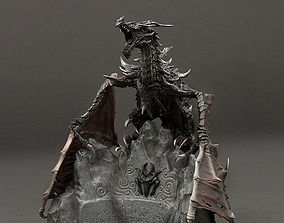 Dragon Elder Scrolls V 3D printable model
