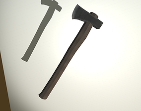 Simple lumber axe model realtime