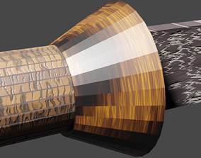 Tenegre Sword or Visayan Sword 3D asset