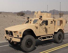 3D MRAP Military vehicle v5
