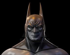 Batman Arkham Asylum Cowl 3D Print File