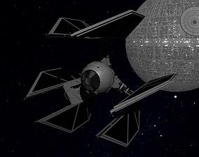 STAR WARS - TIE DEFENDER 3D model