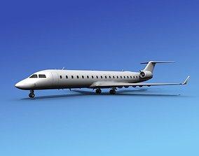 Bombardier CRJ700 Unmarked 2 3D
