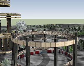 Flushing Meadows Corona Park 3D model