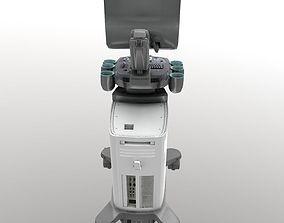 3D asset Ultrasound system Siemens-x300pe