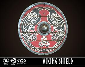 3D model Viking Shield 31