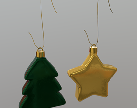 Christmas Bauble 2 3D model