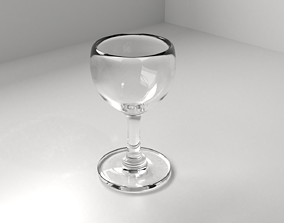 3D wine furniture Wine Glass
